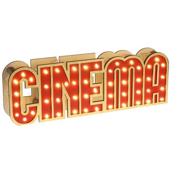 Decoration de table cinema en location de materiel