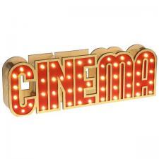 Location d'une lettre cinéma lumineuse à LED en décoration de table. (x1) REF/EV-308