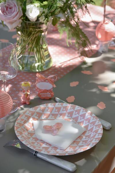 Decoration de table corail 1