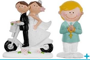 Decoration de table des figurines et sujets en resine
