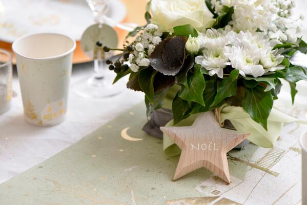 Decoration de table etoile 2