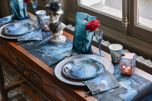 Decoration de table halloween 1