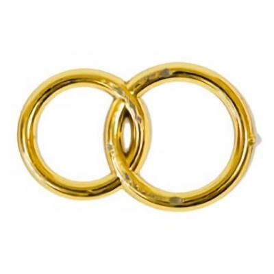 Motif mariage alliances or (x10) REF/MT369