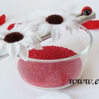 Decoration de table mariage rouge 1