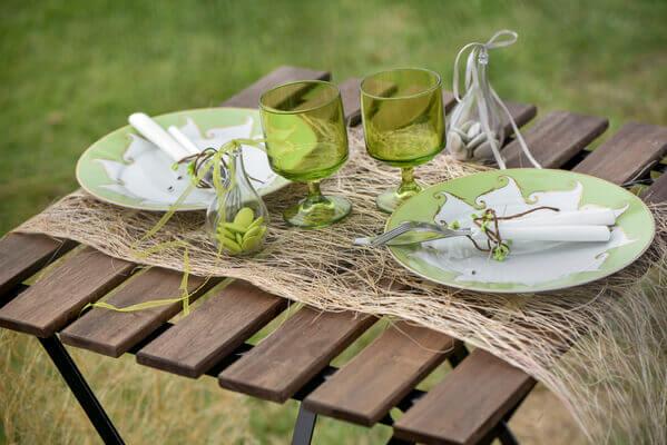 Decoration de table naturelle 1