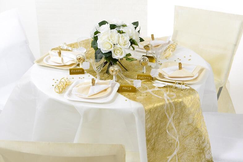 Decoration de table or 6