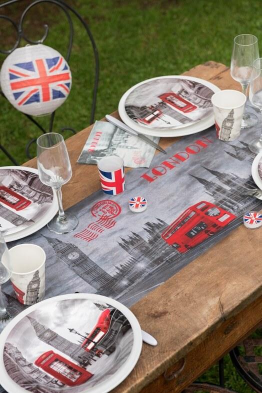 Decoration de table serviette angleterre londres