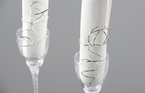 Decoration de verre argent 2