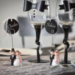 Decoration de verre mariage