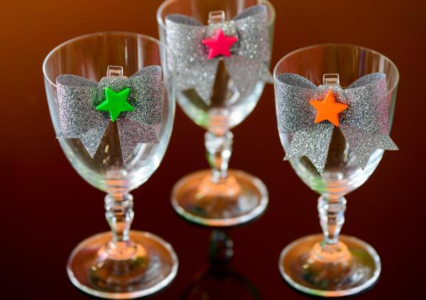 Decoration de verre rose 2