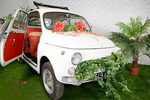 Decoration de voiture mariage 3