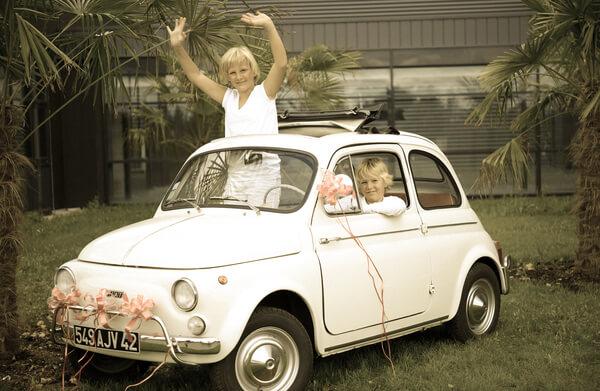 Decoration de voiture mariage 5