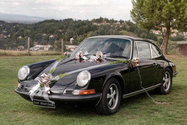 Decoration de voiture mariage 6
