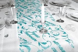 Decoration fete anniversaire bleu