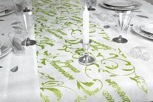 Decoration fete anniversaire vert