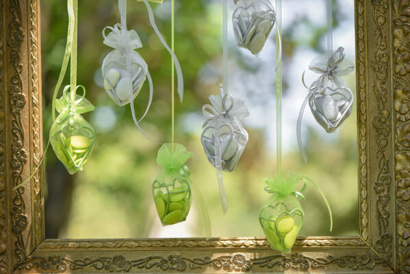 Decoration mariage verte