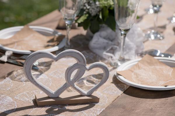 Decoration romantique saint valentin