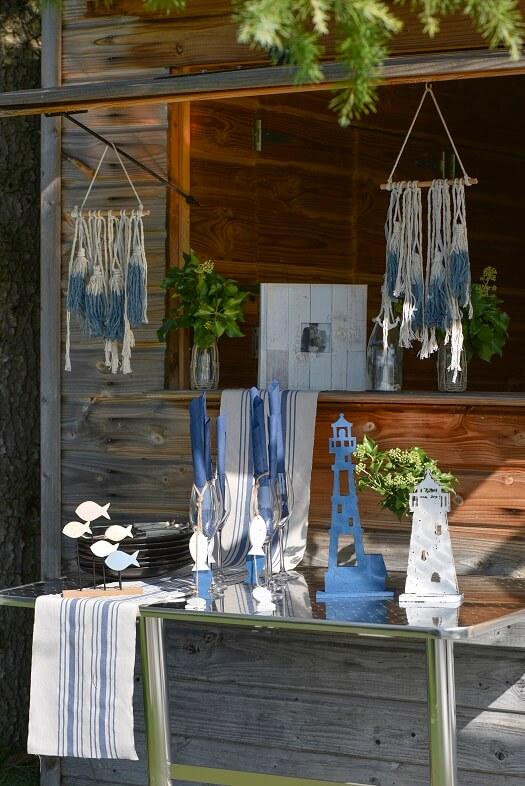 Decoration trditionnelle bleu