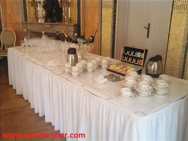 Decoration vin d honneur mariage avec decoratrice nord pas de calais