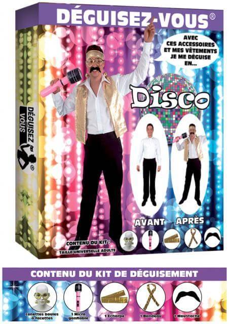Deguisement disco
