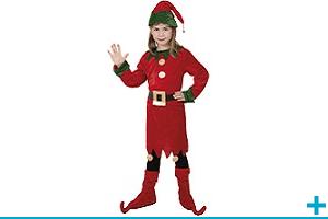 Deguisement et costume enfant fille de 4 a 12 ans fete noel