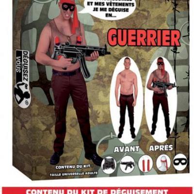 Déguisement: Guerrier (x1) REF/DEG12