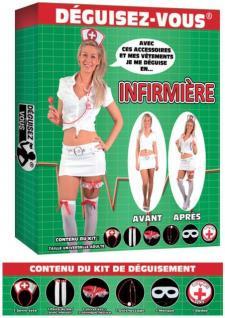 Déguisement: Infirmière (x1) REF/DEG01