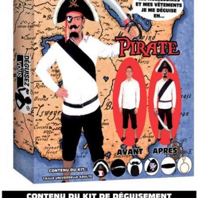 Déguisement: Pirate (x1) REF/DEG23