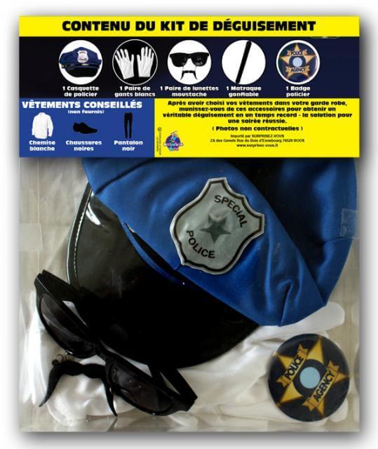 Deguisement policier 1
