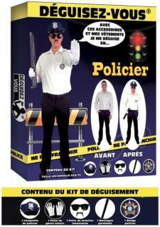 Déguisement: Policier (x1) REF/DEG25