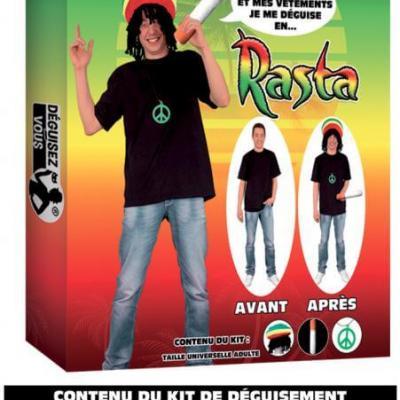 Déguisement: Rasta (x1) REF/DEG14
