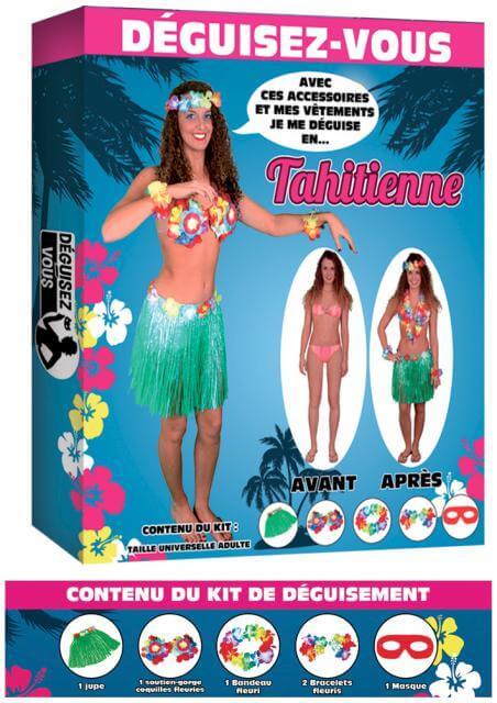 Deguisement tahitienne 2