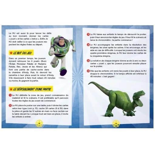 Disney toy story escape box jeu de societe