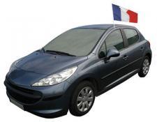 Drapeau de voiture tricolore France (x1) REF/29735