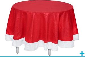 Dressage de table de fete avec nappe