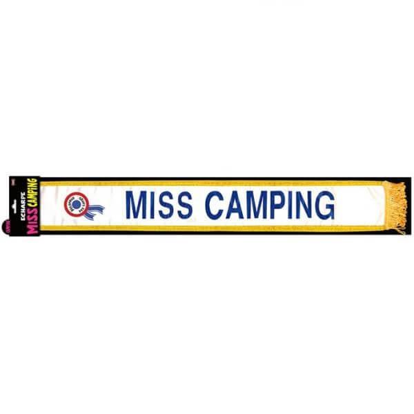 Echarpe femme miss camping