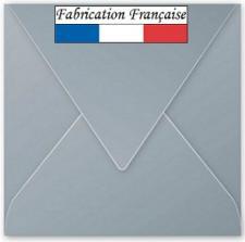 Enveloppe argent carrée 16.5cm (x20) REF/50073