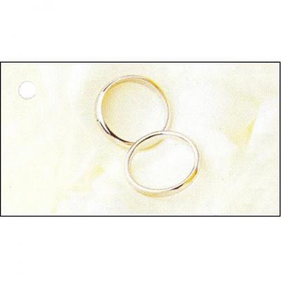 Étiquette mariage: Alliances (x10) REF/CTM08082