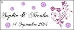 Étiquette à dragées: Vanda (x10) REF/10117