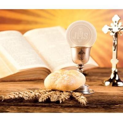 Étiquette communion: Messe (x10) REF/CTC08143