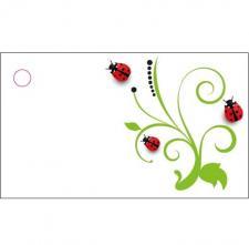 Étiquette: Coccinelle (x10) REF/CTM08570