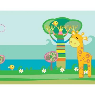 Étiquette girafe (x10) REF/CTB08217