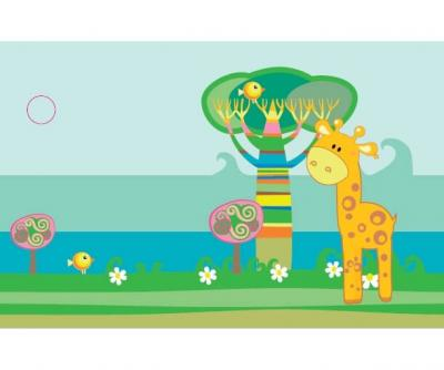 Étiquette girafe (x10) REF/CTC08217