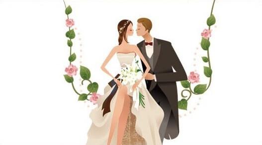 Etiquette mariage 1