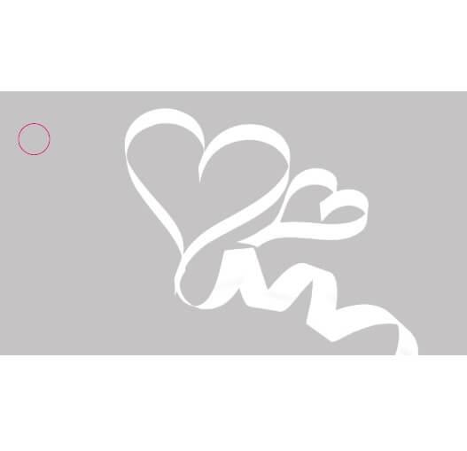 Etiquette mariage coeur 3