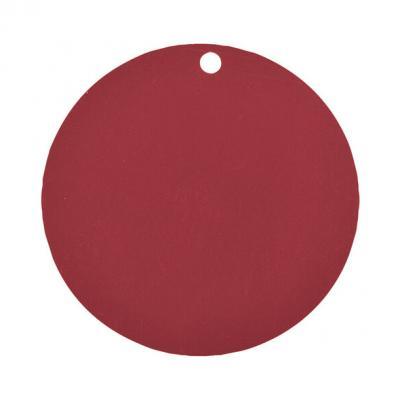 Étiquette ronde bordeaux (x10) REF/3352