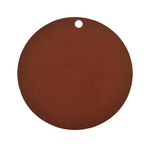 Etiquette ronde chocolat