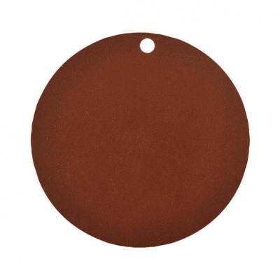 Étiquette ronde chocolat (x10) REF/3352