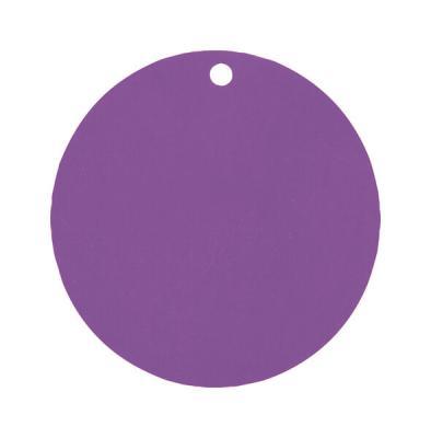 Étiquette ronde prune (x10) REF/3352