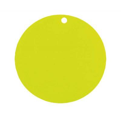 Étiquette ronde verte (x10) REF/3352